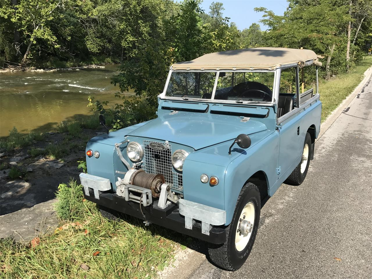 Land Rover Marin >> For Sale 1961 Land Rover Series Iia 88 In Sylvania Ohio