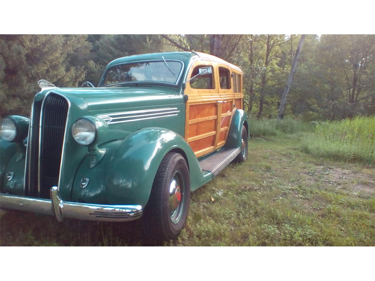 Large Picture of 1936 Plymouth Woody Wagon located in Michigan Offered by a Private Seller - LD3V