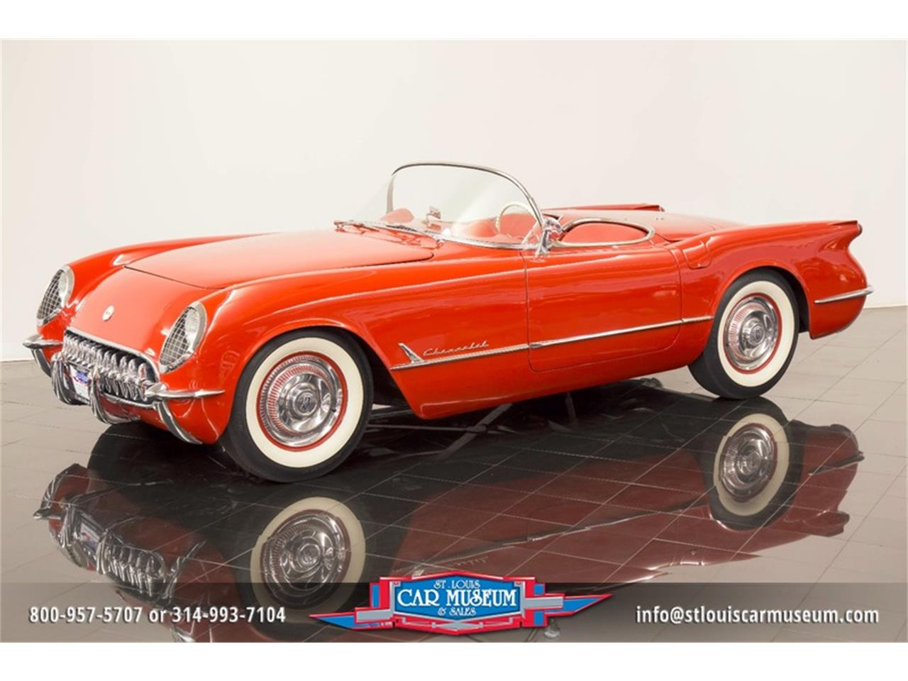 Large Picture of Classic '54 Chevrolet Corvette located in St. Louis Missouri - $79,900.00 Offered by St. Louis Car Museum - LD8C