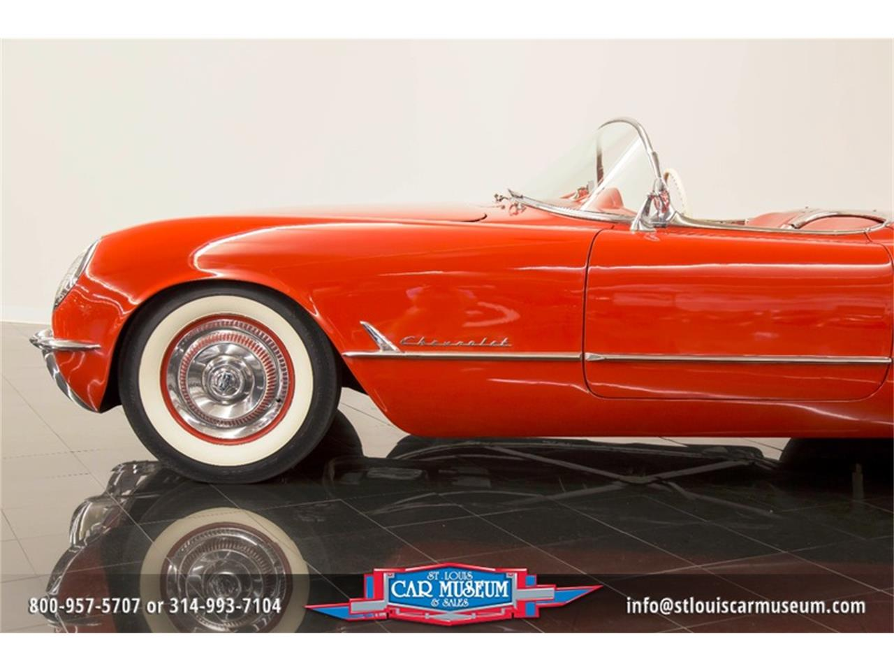 Large Picture of Classic '54 Chevrolet Corvette located in Missouri - $79,900.00 Offered by St. Louis Car Museum - LD8C