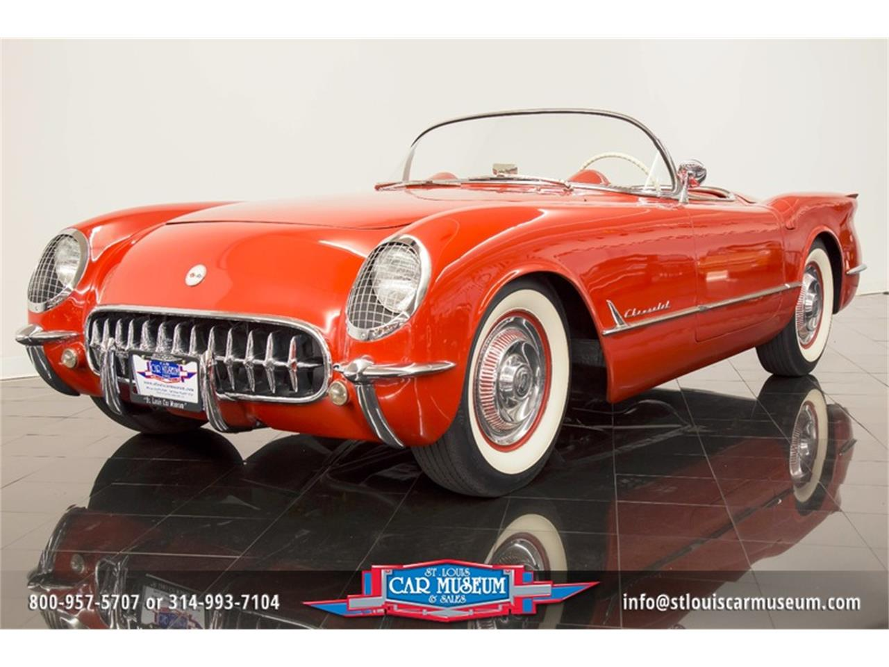 Large Picture of Classic '54 Chevrolet Corvette located in St. Louis Missouri Offered by St. Louis Car Museum - LD8C