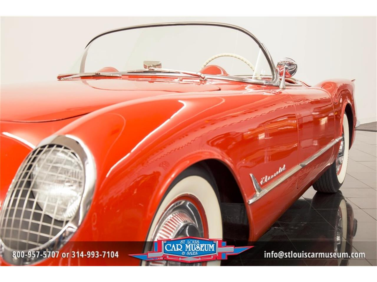Large Picture of '54 Chevrolet Corvette located in Missouri - $79,900.00 Offered by St. Louis Car Museum - LD8C
