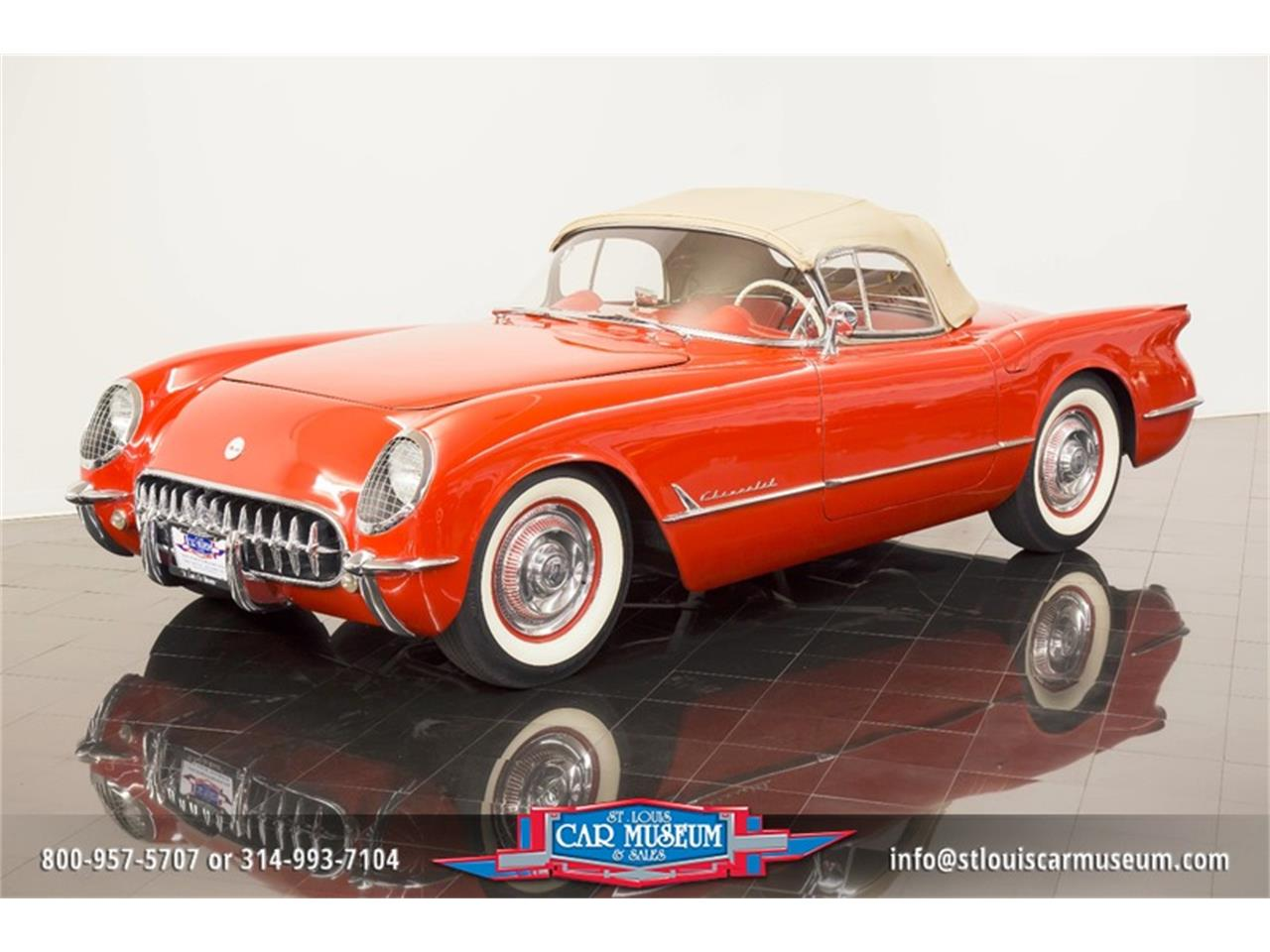 Large Picture of '54 Chevrolet Corvette located in St. Louis Missouri Offered by St. Louis Car Museum - LD8C