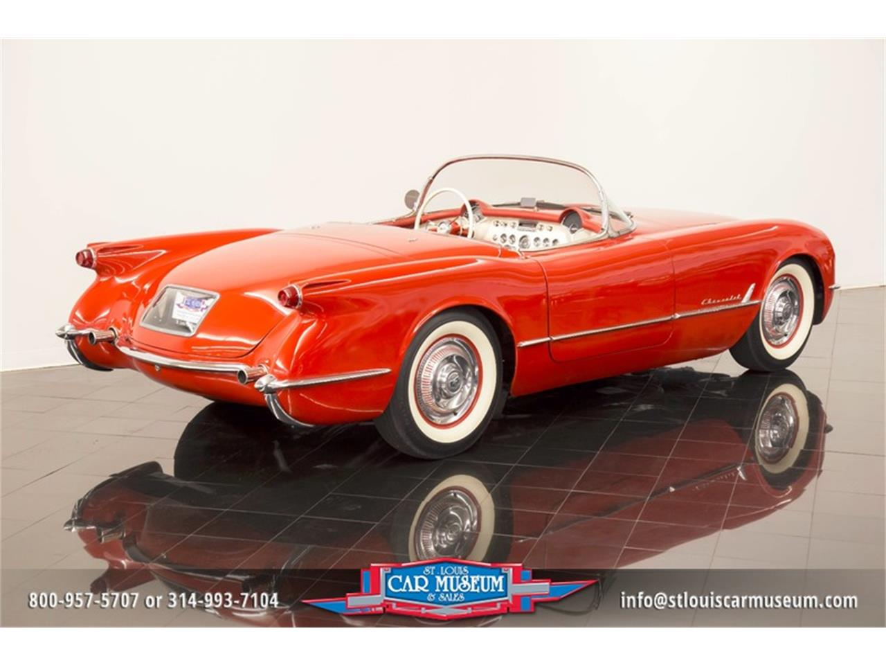 Large Picture of Classic 1954 Chevrolet Corvette - $79,900.00 Offered by St. Louis Car Museum - LD8C