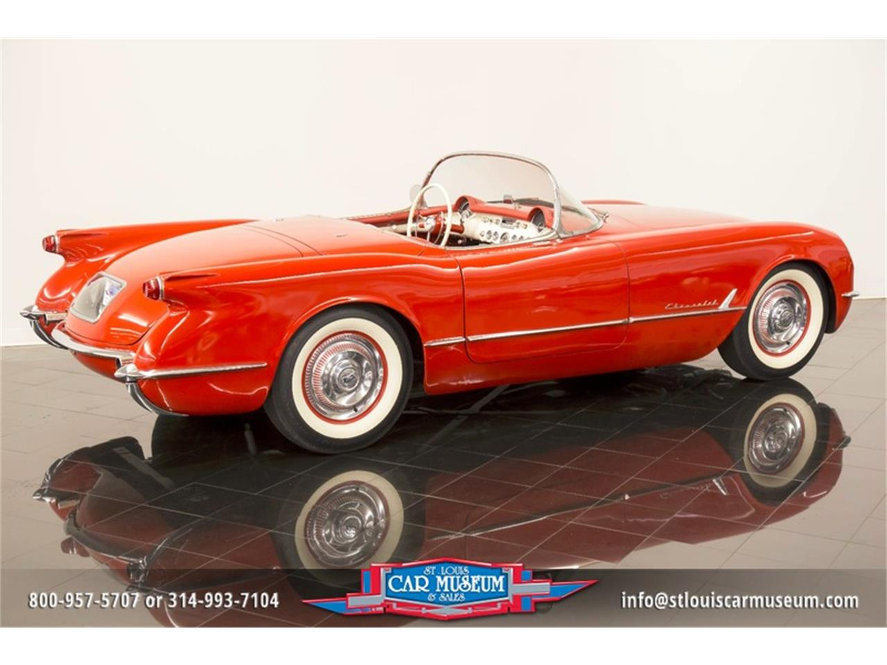Large Picture of '54 Corvette Offered by St. Louis Car Museum - LD8C