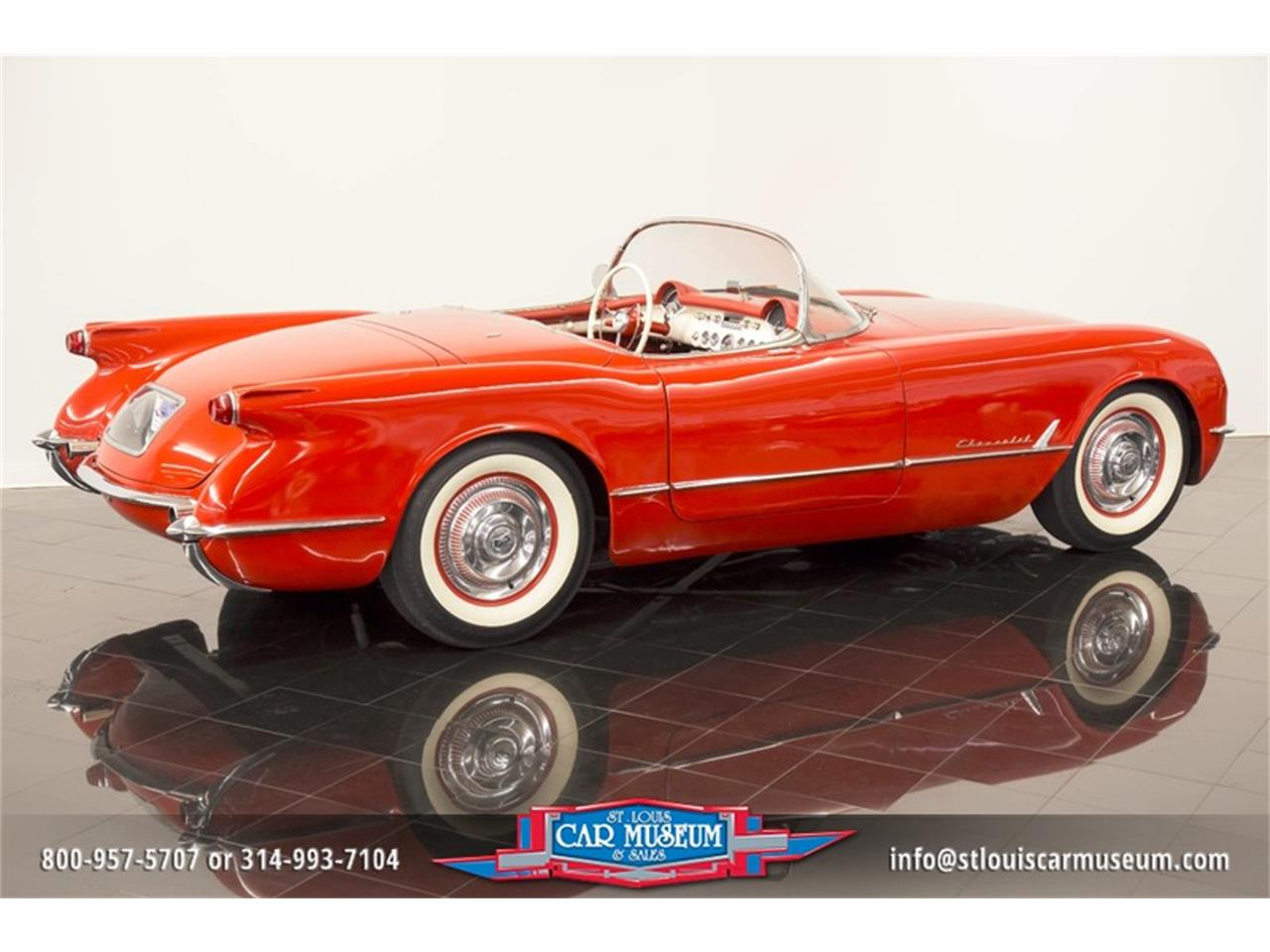 Large Picture of Classic 1954 Chevrolet Corvette located in Missouri - $79,900.00 Offered by St. Louis Car Museum - LD8C