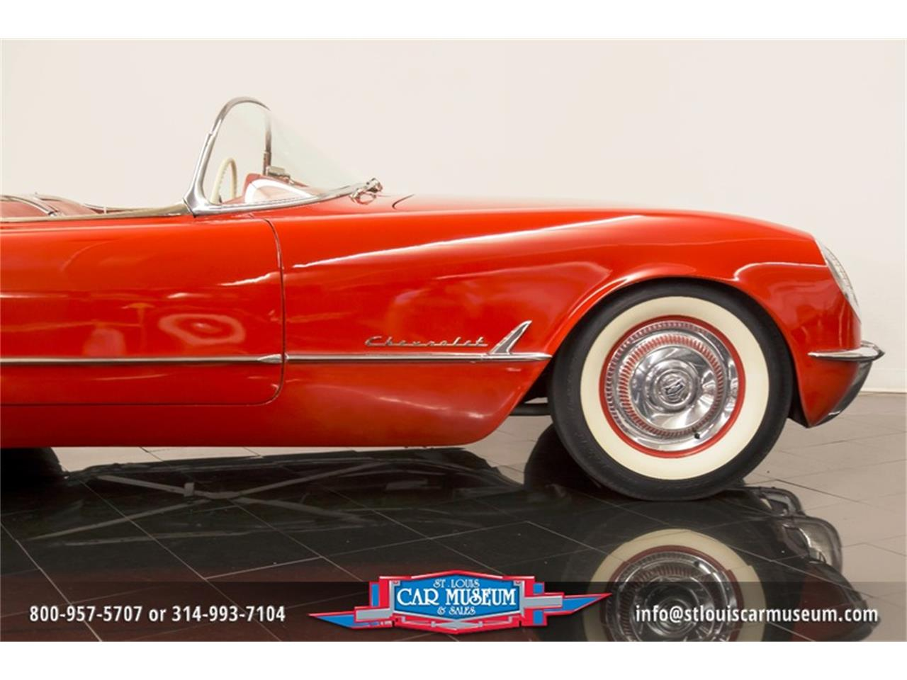 Large Picture of 1954 Chevrolet Corvette - $79,900.00 Offered by St. Louis Car Museum - LD8C