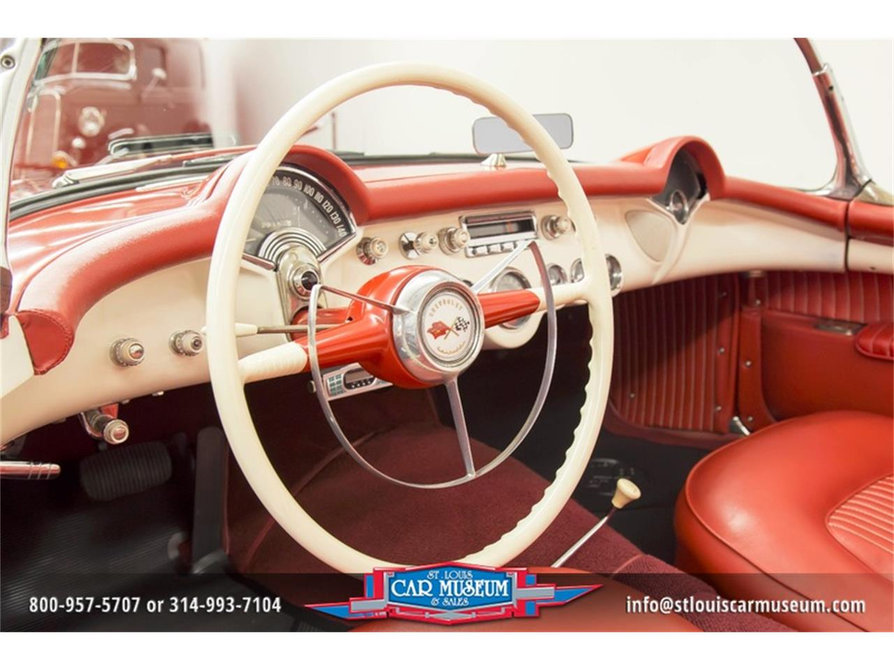 Large Picture of Classic 1954 Corvette - $79,900.00 Offered by St. Louis Car Museum - LD8C