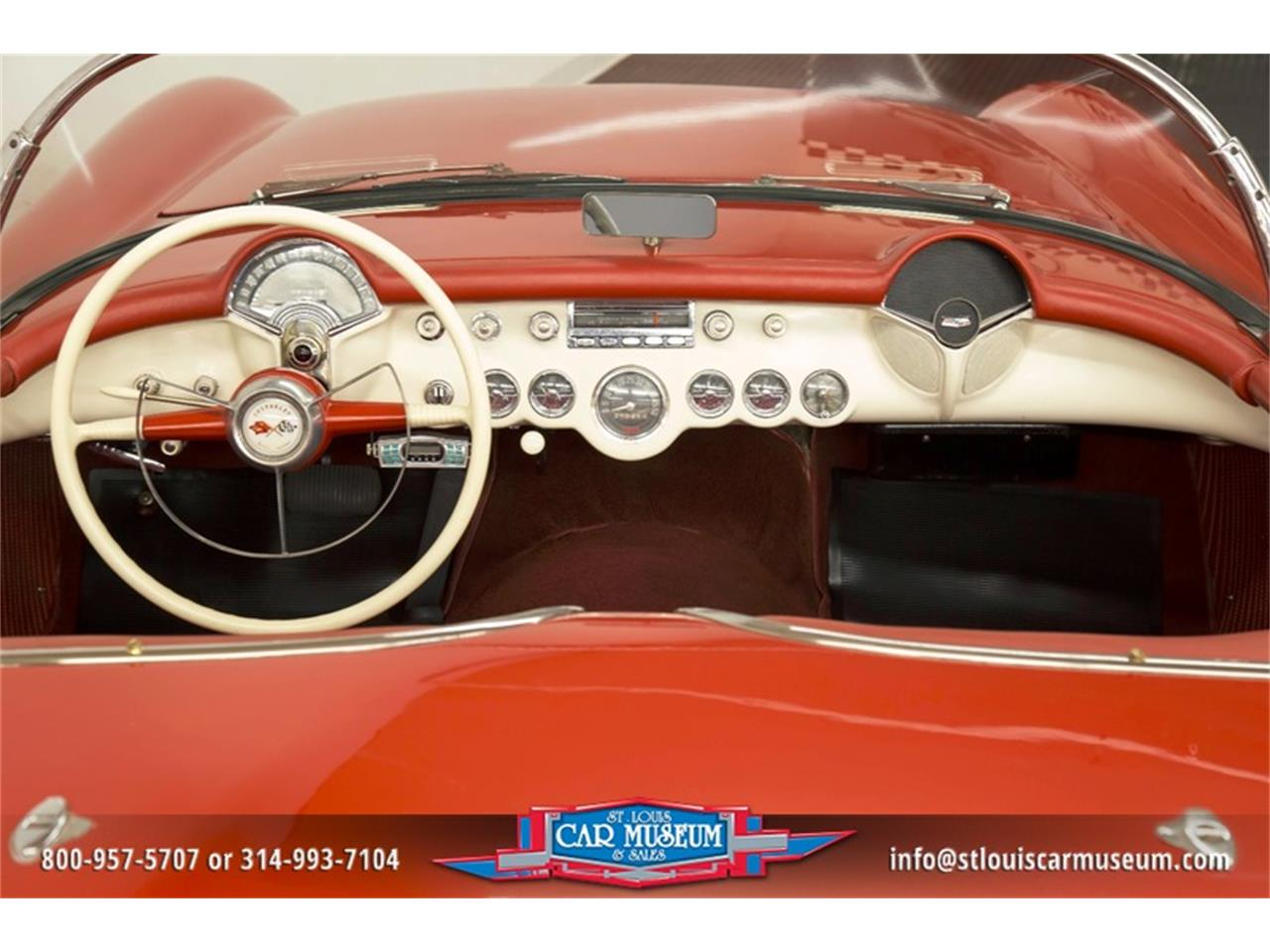 Large Picture of 1954 Chevrolet Corvette located in St. Louis Missouri Offered by St. Louis Car Museum - LD8C