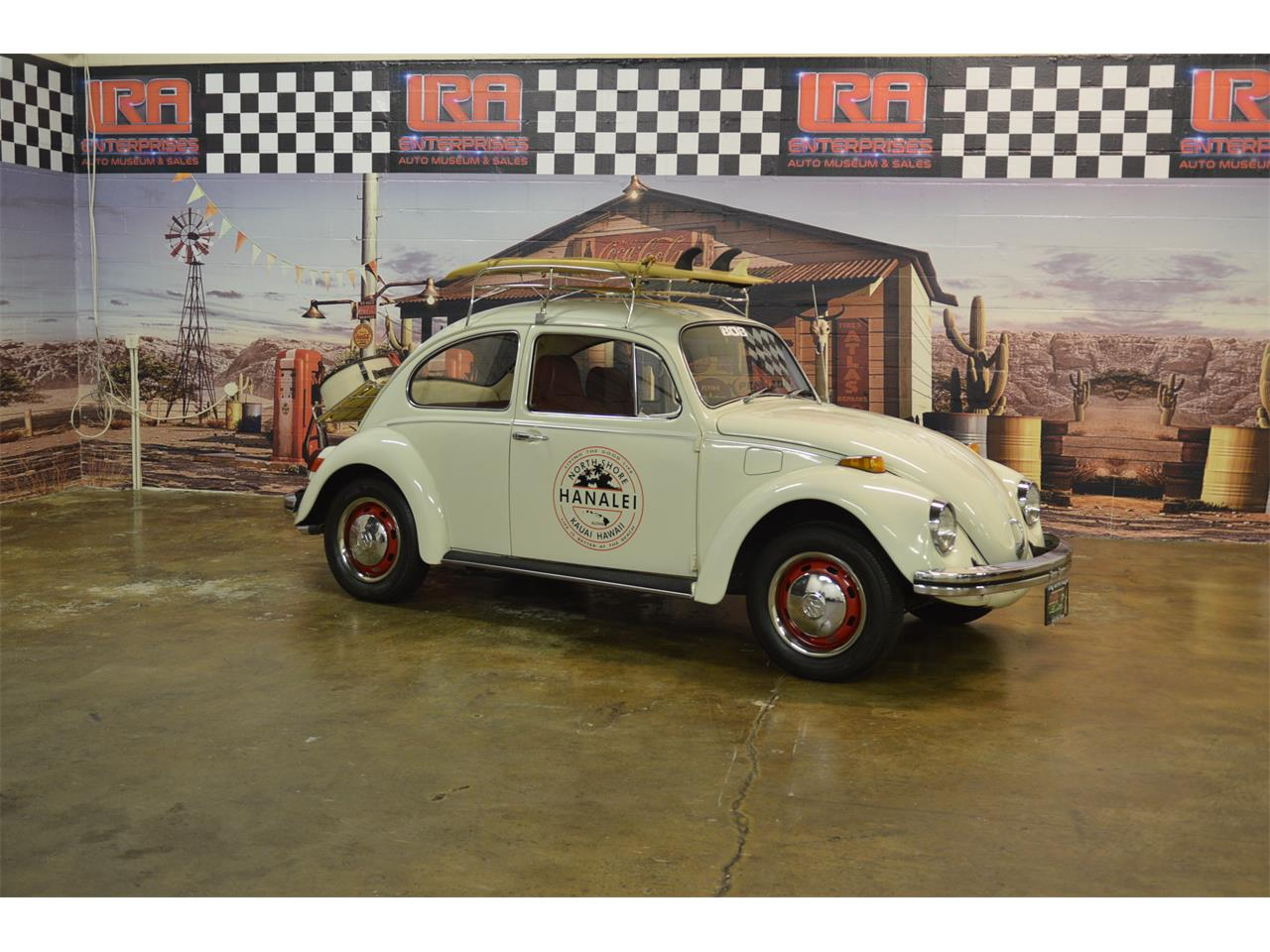 Large Picture of Classic 1970 Volkswagen Beetle located in bristol Pennsylvania - $11,900.00 Offered by L.R.A. Enterprises Auto Museum & Sales - LD8V