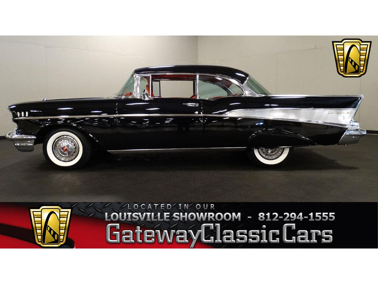 Large Picture of '57 Bel Air located in Memphis Indiana Offered by Gateway Classic Cars - Louisville - LDC7