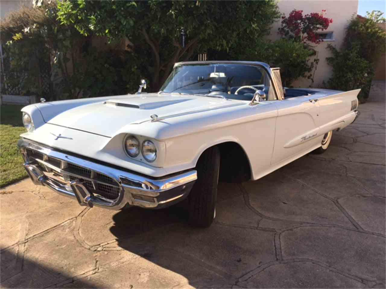 1960 ford thunderbird for sale cc 997228. Black Bedroom Furniture Sets. Home Design Ideas