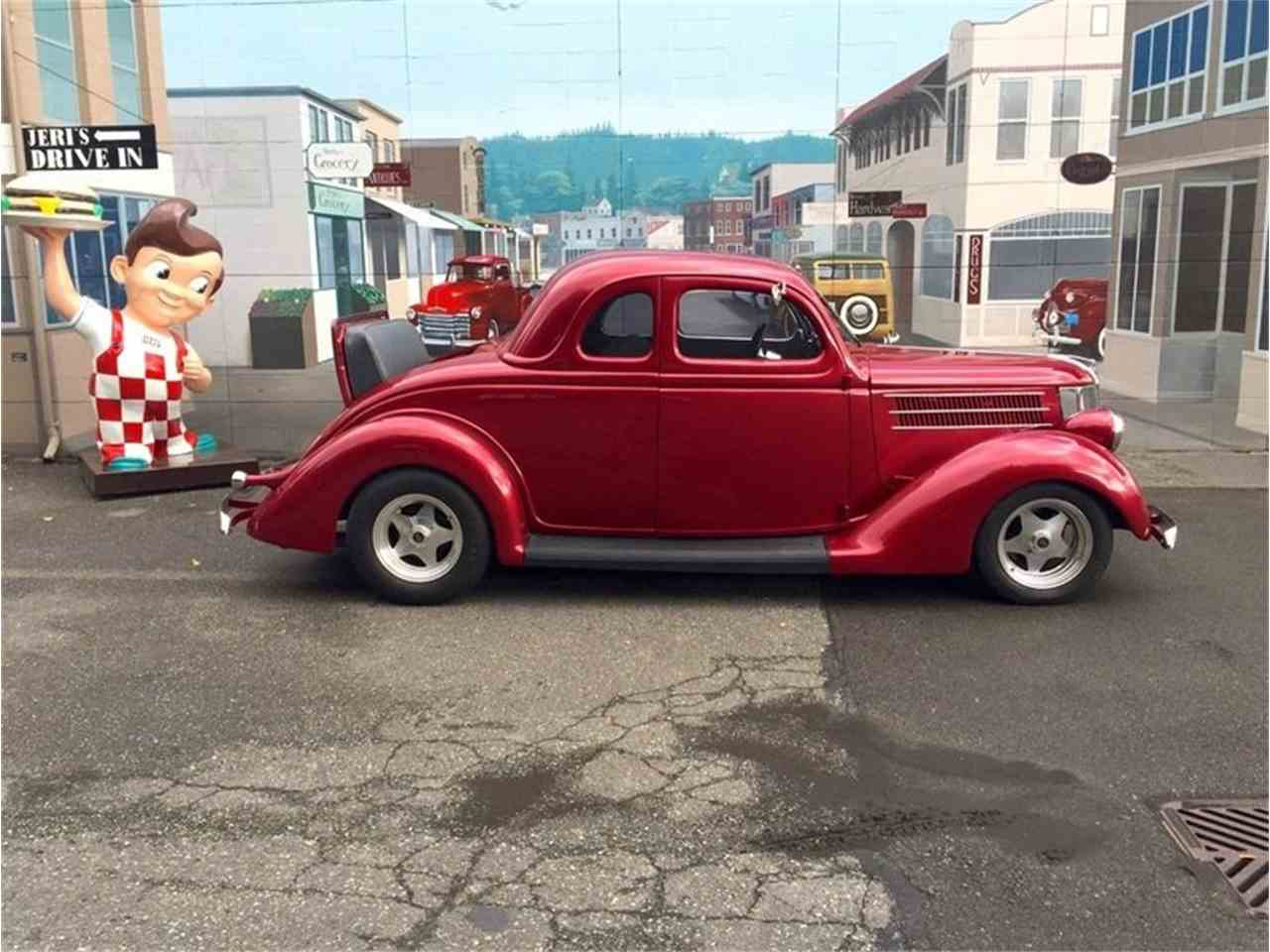 Large Picture of Classic 1936 Ford Street Rod located in Seattle Washington - $42,500.00 Offered by Drager's Classics - LDIK