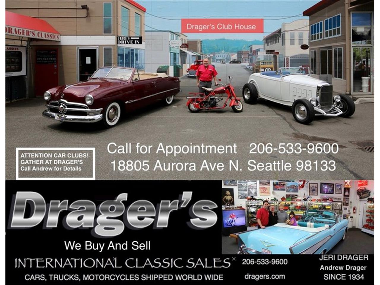 Large Picture of Classic '49 150 5 Window 1/2 Ton PickUp located in Seattle Washington - $34,500.00 Offered by Drager's Classics - LDIL