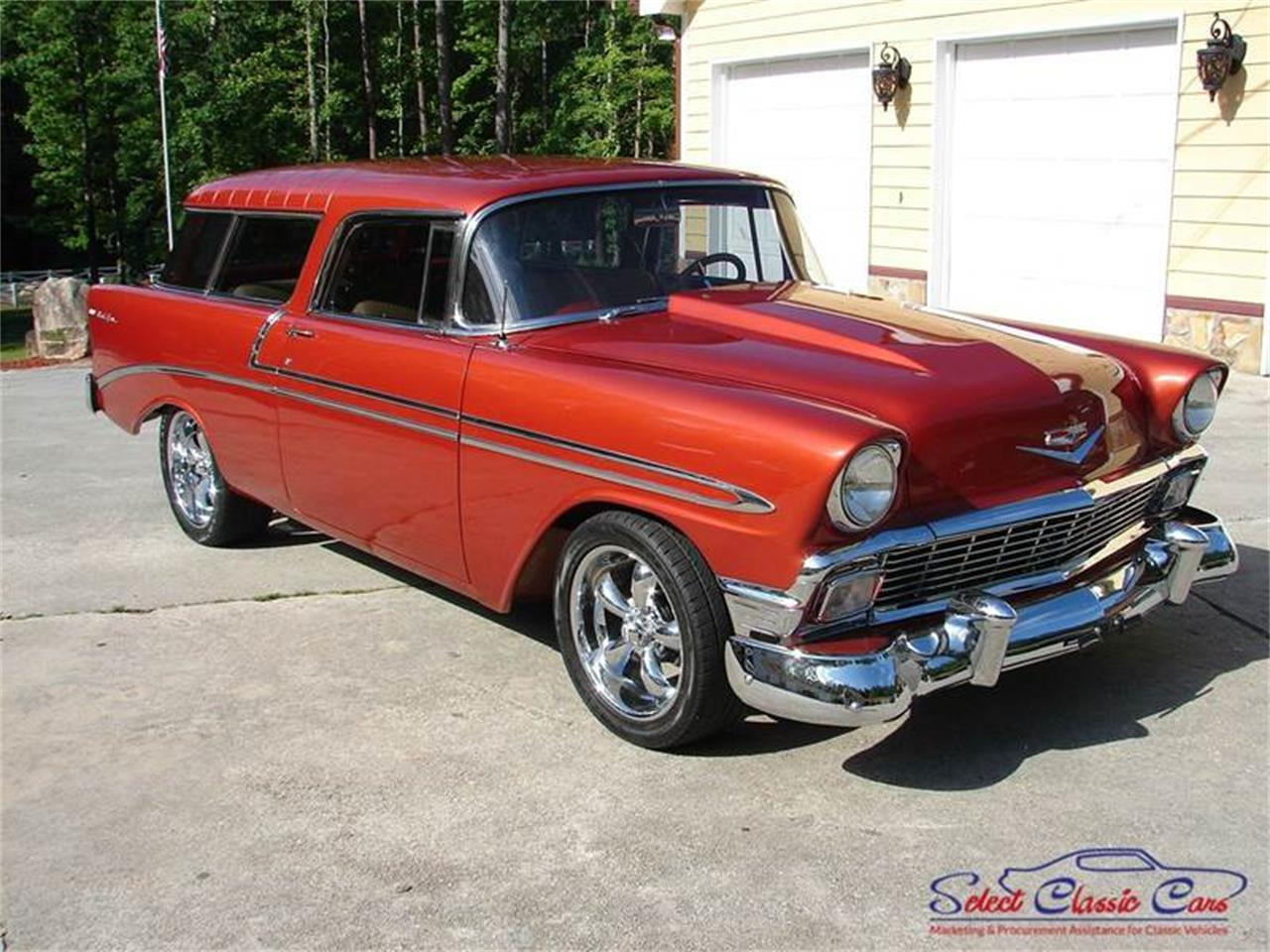 Large Picture of 1956 Chevrolet Bel Air located in Georgia Offered by Select Classic Cars - LDM8
