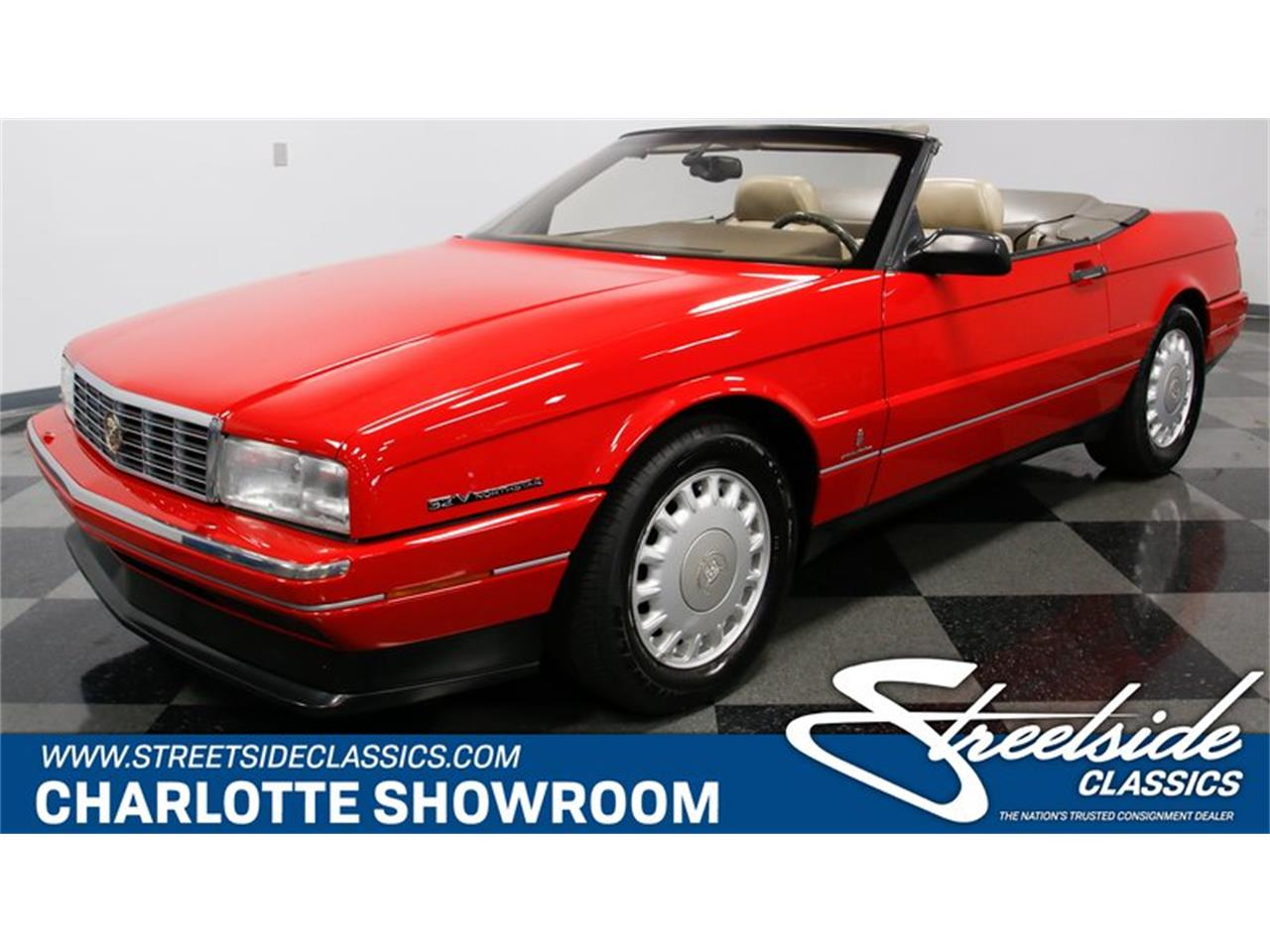 Large Picture of 1993 Cadillac Allante located in Concord North Carolina Offered by Streetside Classics - Charlotte - LDMY