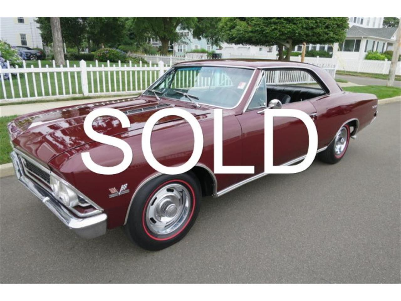 Large Picture of Classic '66 Chevrolet Chevelle located in Connecticut Offered by Napoli Classics - LDNC