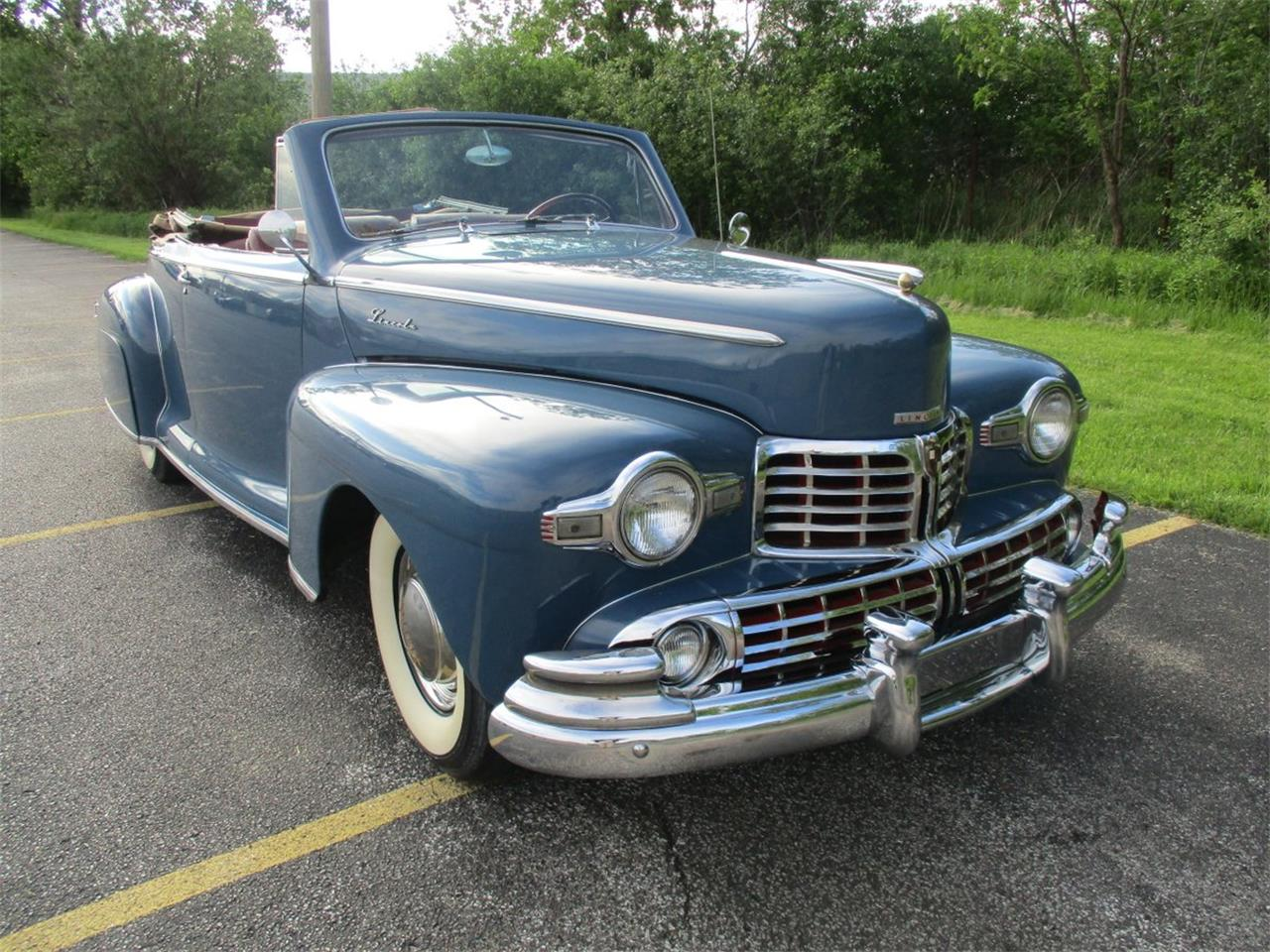1948 Lincoln Convertible For Sale Classiccars Com Cc