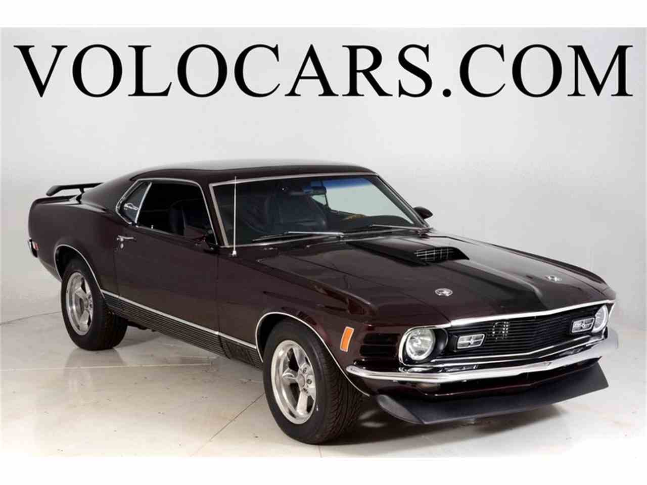 Large Picture of Classic 1970 Mustang Mach 1 Pro Touring - $41,998.00 Offered by Volo Auto Museum - L8H9