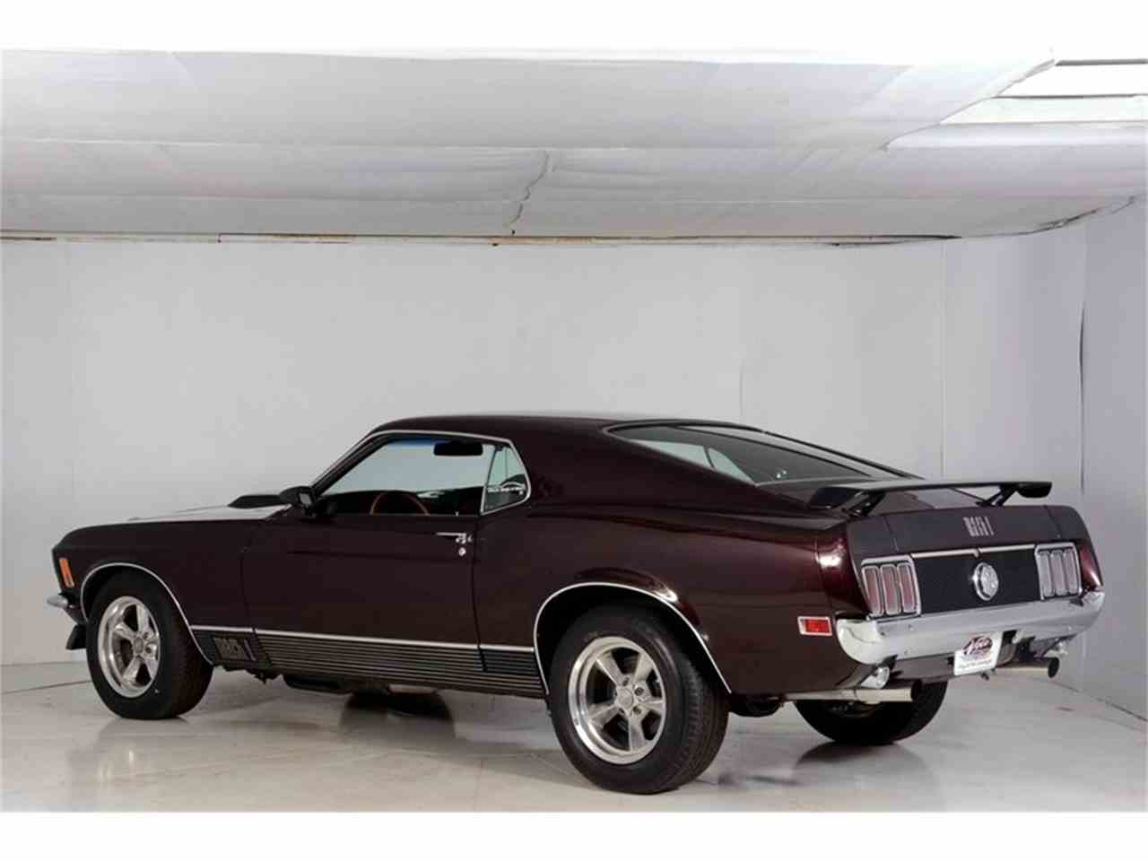Large Picture of Classic 1970 Mustang Mach 1 Pro Touring located in Illinois Offered by Volo Auto Museum - L8H9