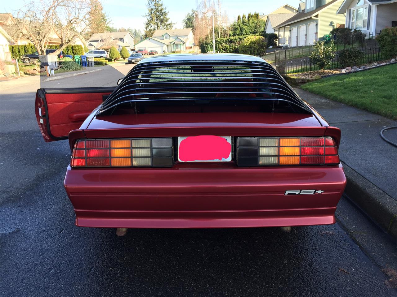 Large Picture of '92 Chevrolet Camaro RS located in Auburn Washington - LDTA