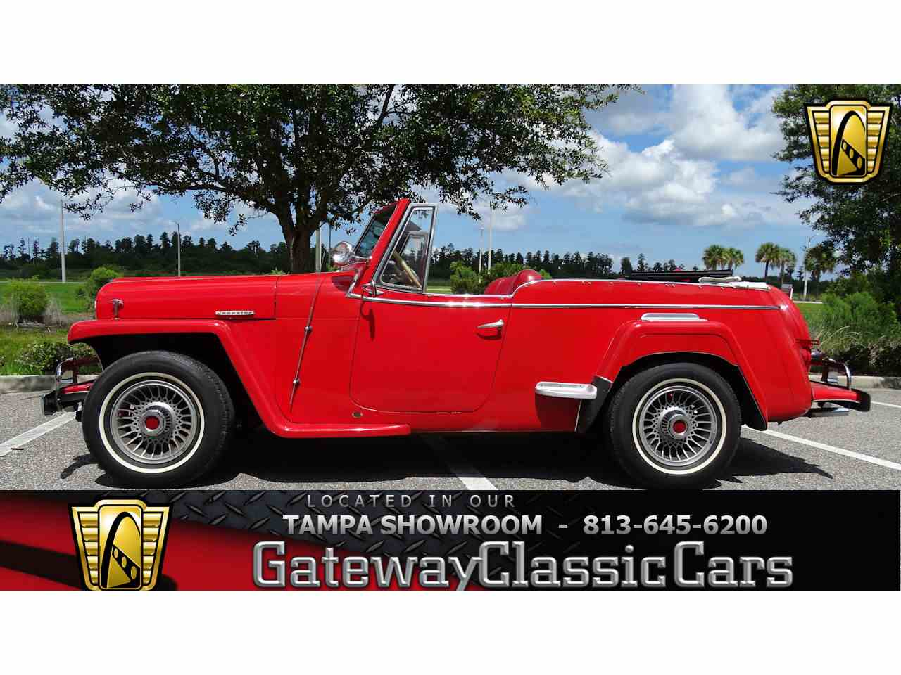 Large Picture of 1950 Willys located in Ruskin Florida - $14,995.00 - LDUL