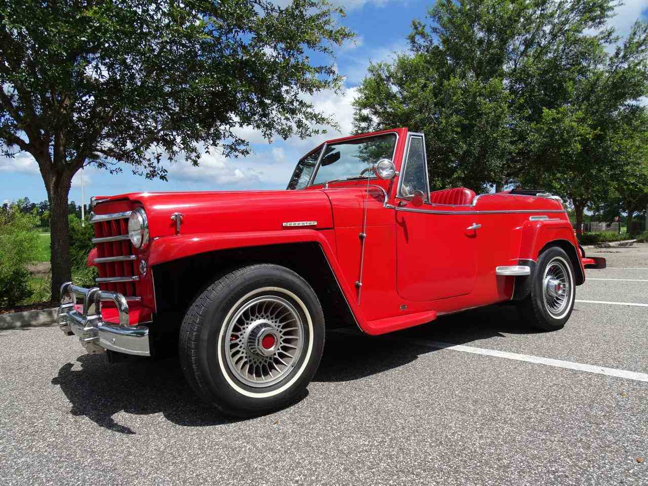 Large Picture of Classic 1950 Jeep Willys Offered by Gateway Classic Cars - Tampa - LDUL