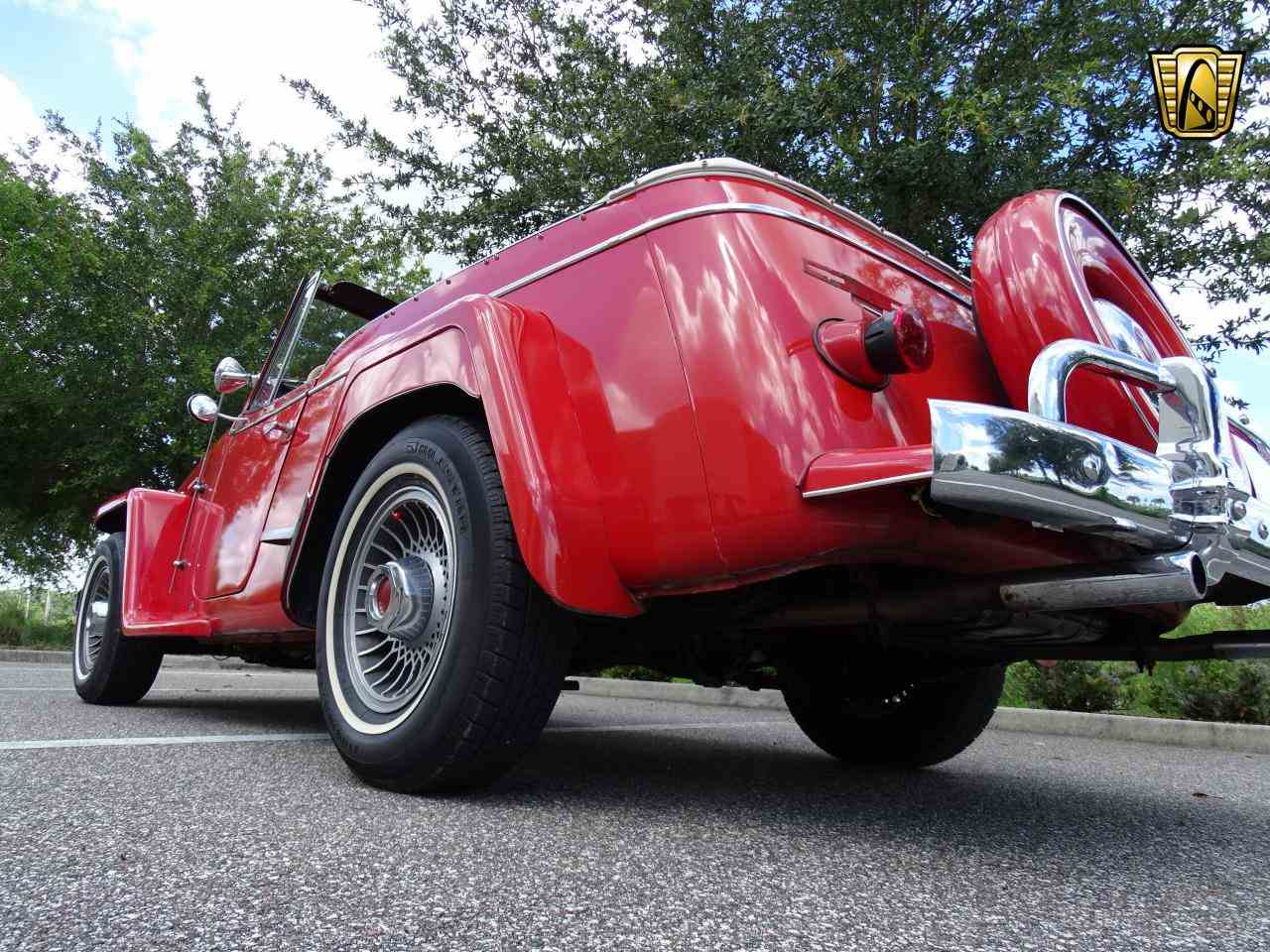 Large Picture of Classic 1950 Willys - $14,995.00 Offered by Gateway Classic Cars - Tampa - LDUL
