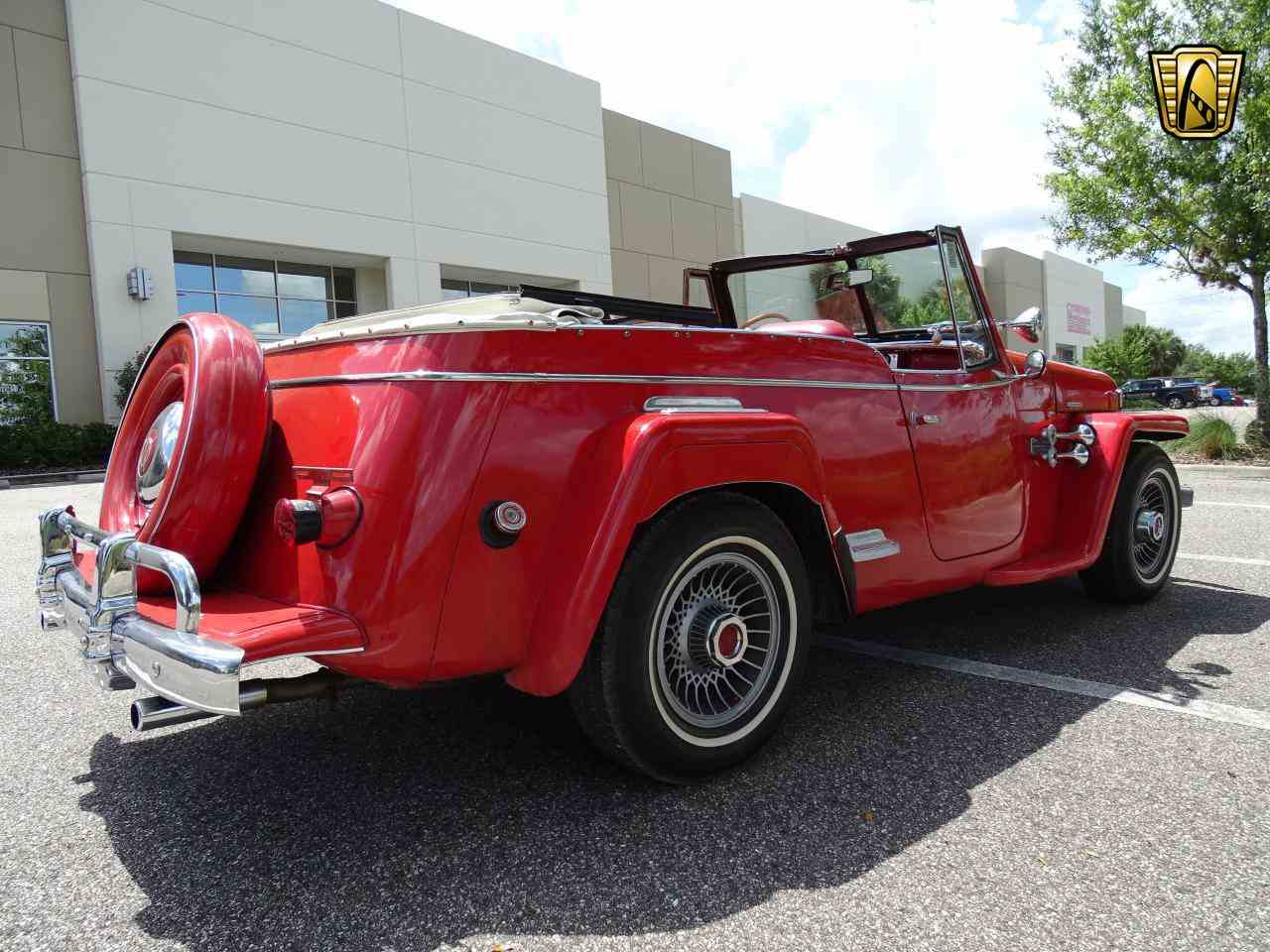 Large Picture of Classic 1950 Jeep Willys located in Ruskin Florida Offered by Gateway Classic Cars - Tampa - LDUL