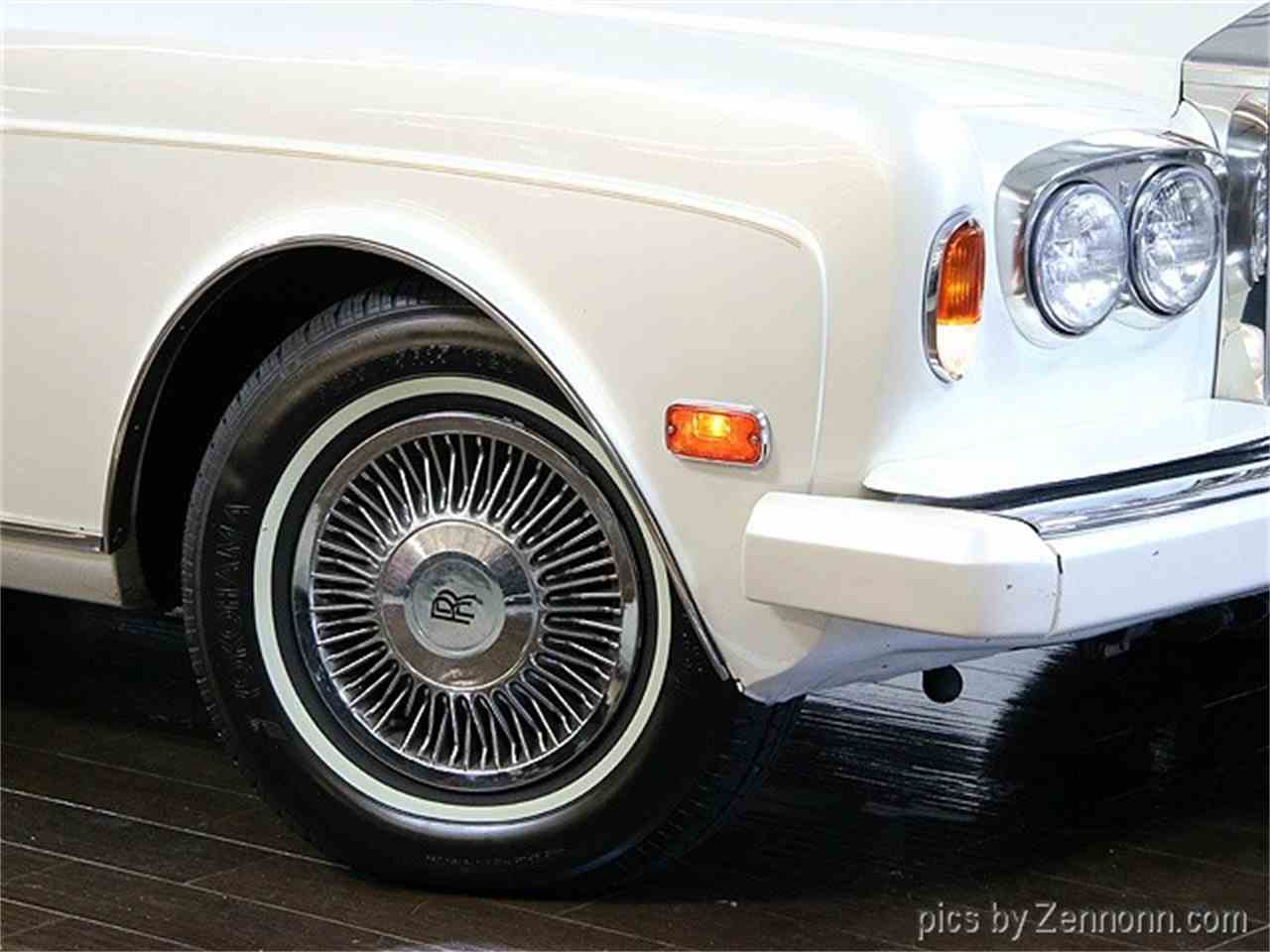 Large Picture of '82 Rolls-Royce Corniche II located in Addison Illinois - $54,990.00 Offered by Auto Gallery Chicago - LDVR