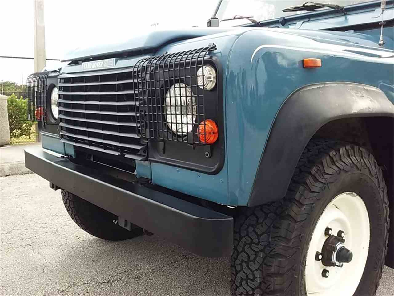 Large Picture of 1989 Land Rover Defender located in Delray Beach Florida Offered by Pedigree Motorcars - LDXR
