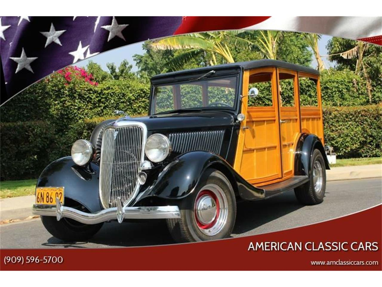 Large Picture of 1934 Ford Woody Wagon located in California Auction Vehicle Offered by American Classic Cars - LDYJ