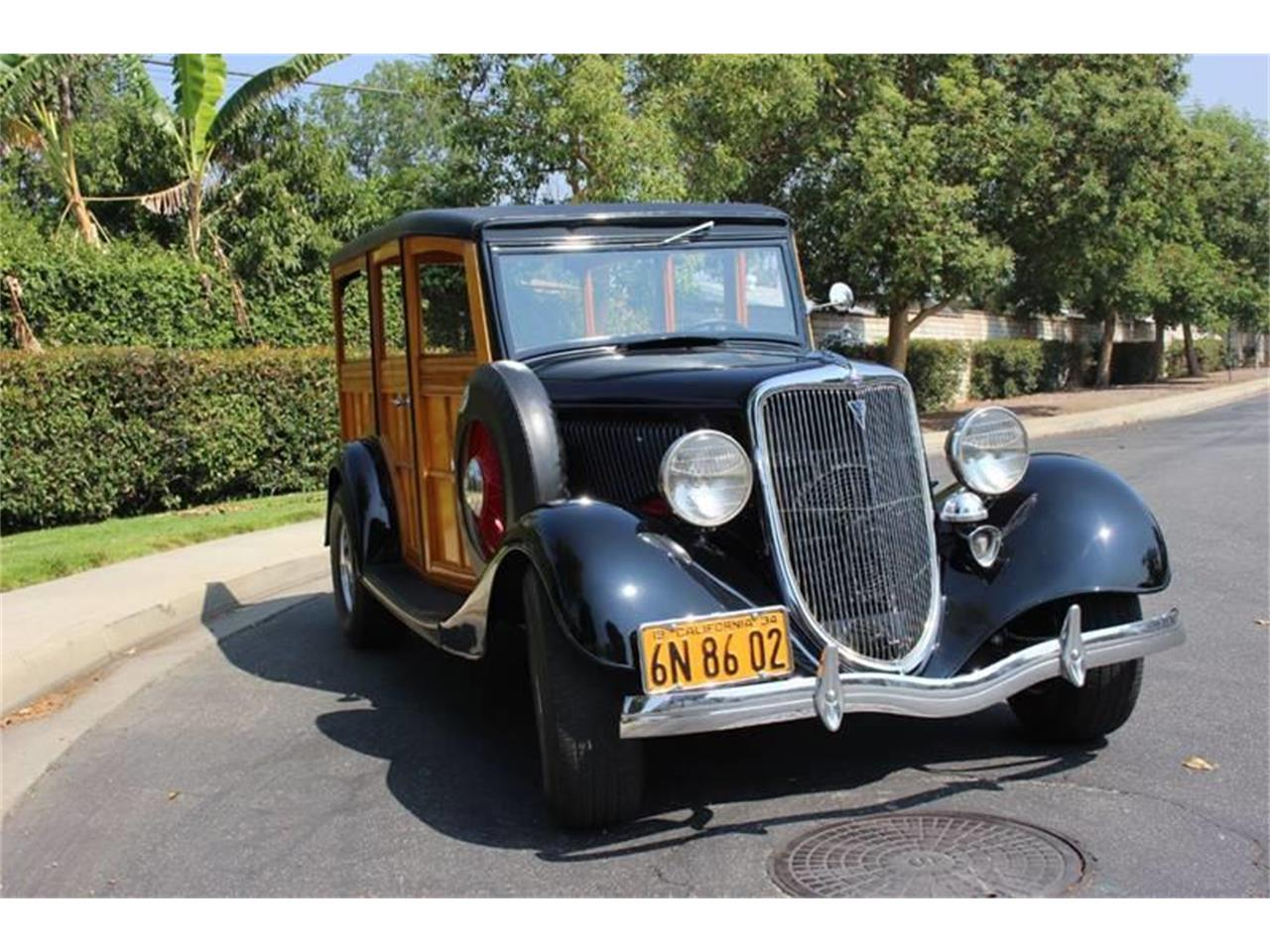 Large Picture of Classic 1934 Ford Woody Wagon Auction Vehicle Offered by American Classic Cars - LDYJ