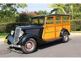 Picture of Classic '34 Woody Wagon - LDYJ