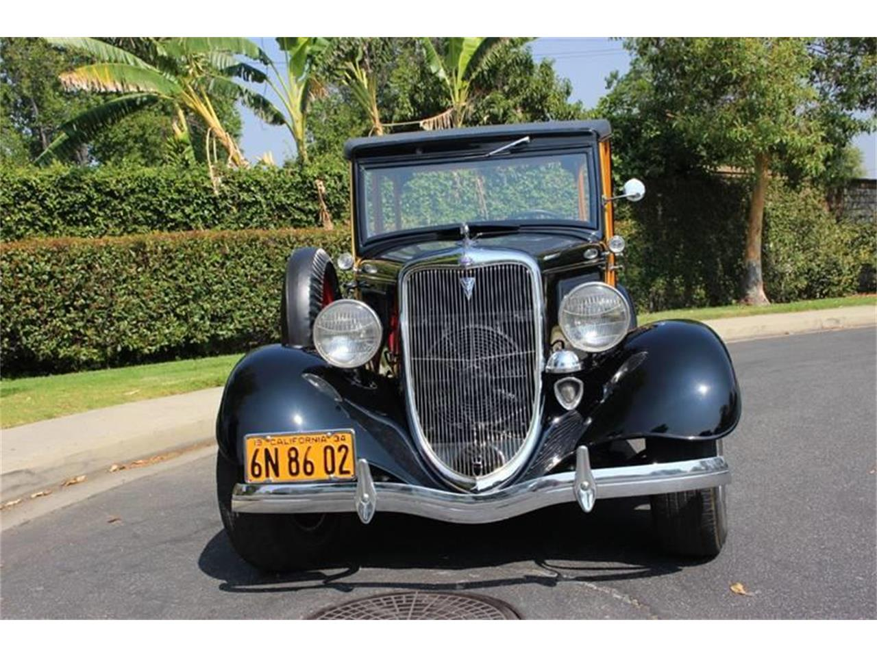 Large Picture of '34 Ford Woody Wagon located in La Verne California Auction Vehicle Offered by American Classic Cars - LDYJ