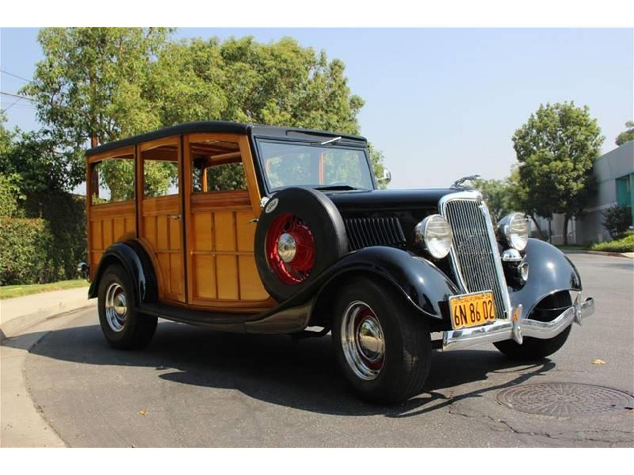 Large Picture of Classic 1934 Ford Woody Wagon located in La Verne California Offered by American Classic Cars - LDYJ
