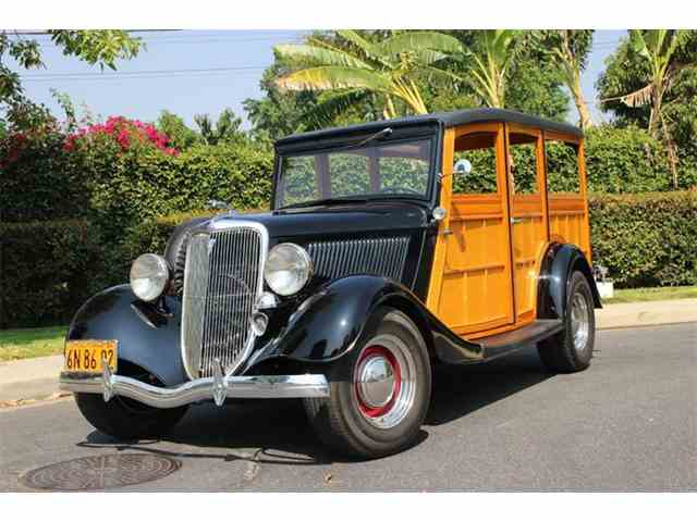 Picture of '34 Woody Wagon located in California - $59,900.00 - LDYJ