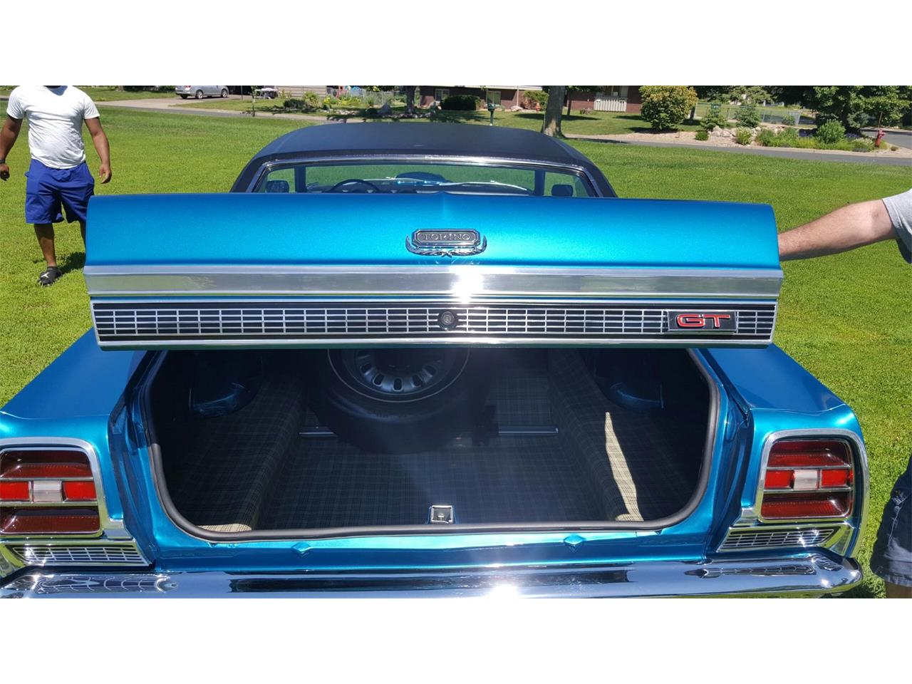 Large Picture of '69 Ford Torino located in Minnesota Auction Vehicle Offered by Classic Rides and Rods - L8I4