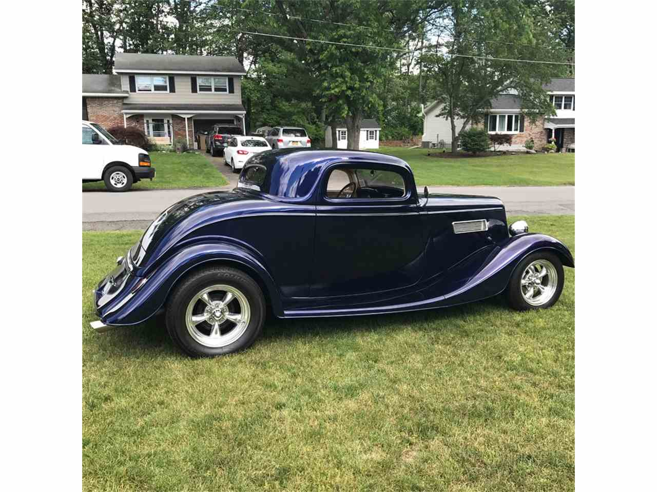 1934 ford 3 window coupe for sale cc 998020. Black Bedroom Furniture Sets. Home Design Ideas