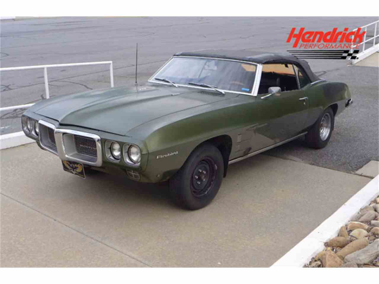 Large Picture of Classic '69 Pontiac Firebird located in Charlotte North Carolina Offered by Hendrick Performance - LE4W