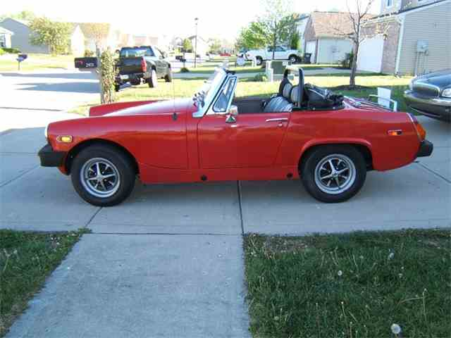 Original colors mg midget mark iv
