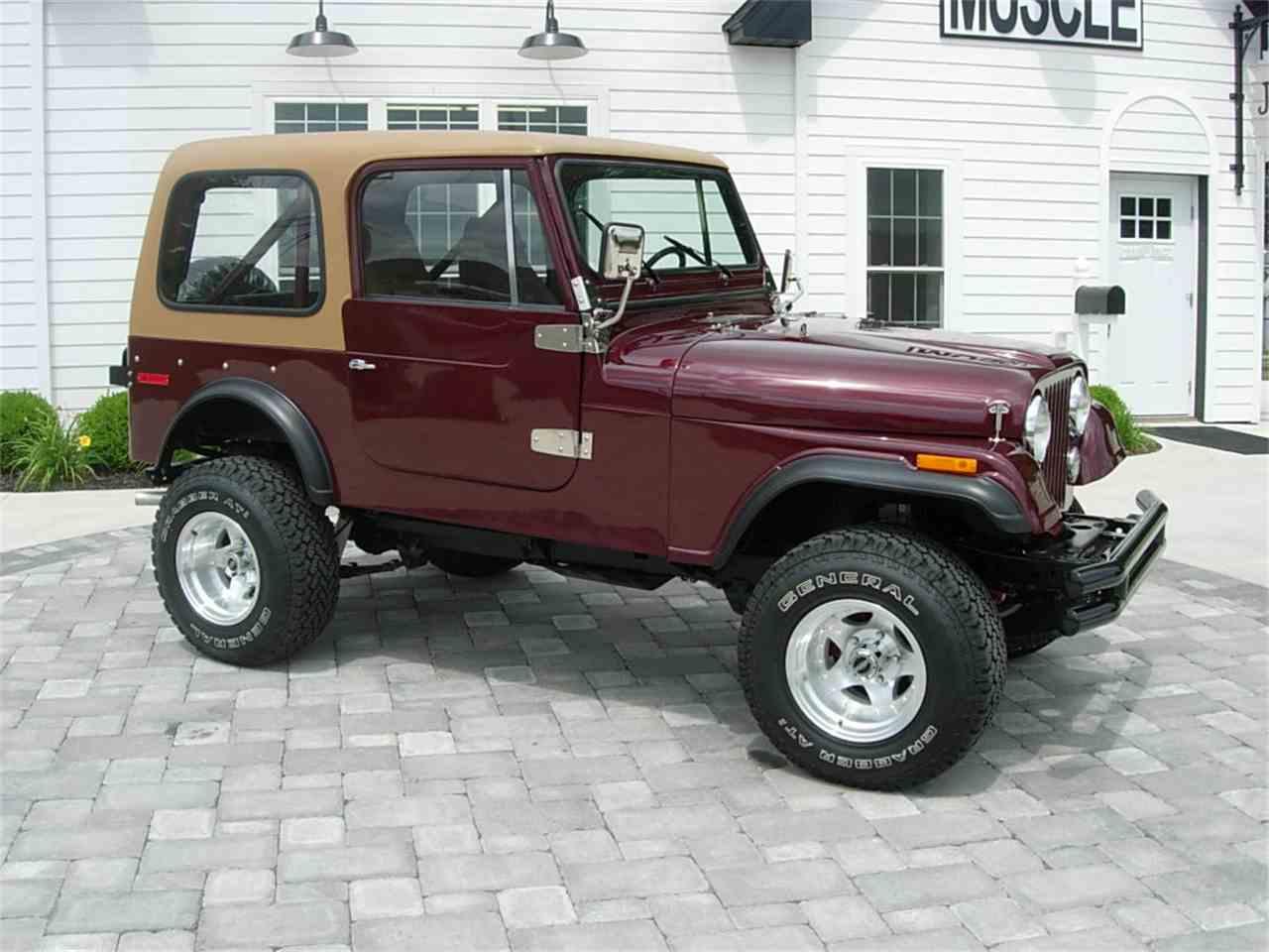 1978 jeep cj7 for sale cc 998135. Black Bedroom Furniture Sets. Home Design Ideas