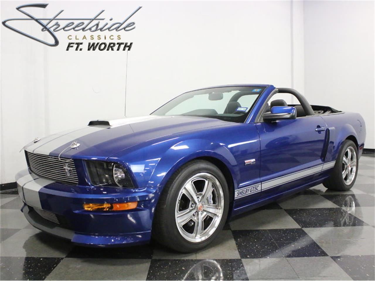 For sale 2008 ford mustang shelby gt sc in ft worth texas