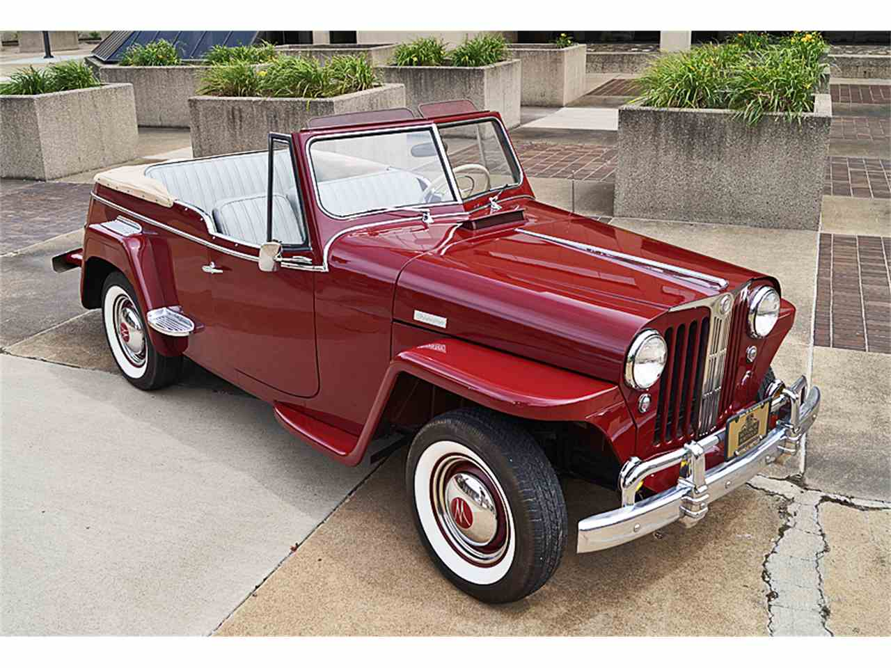 1949 willys jeepster for sale cc 998188. Black Bedroom Furniture Sets. Home Design Ideas