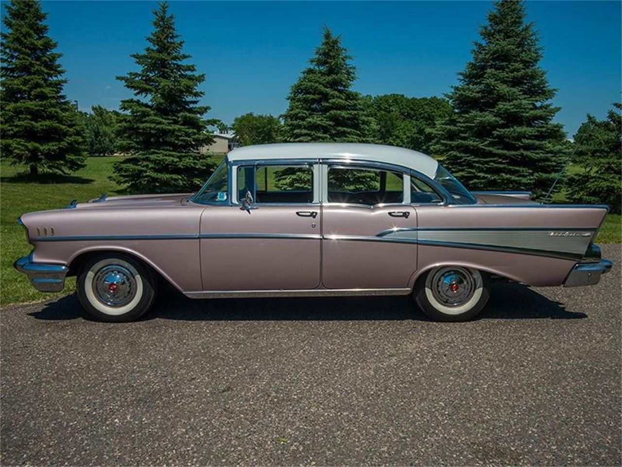 Large Picture of Classic '57 Chevrolet Bel Air located in Rogers Minnesota Offered by Ellingson Motorcars - LE8L
