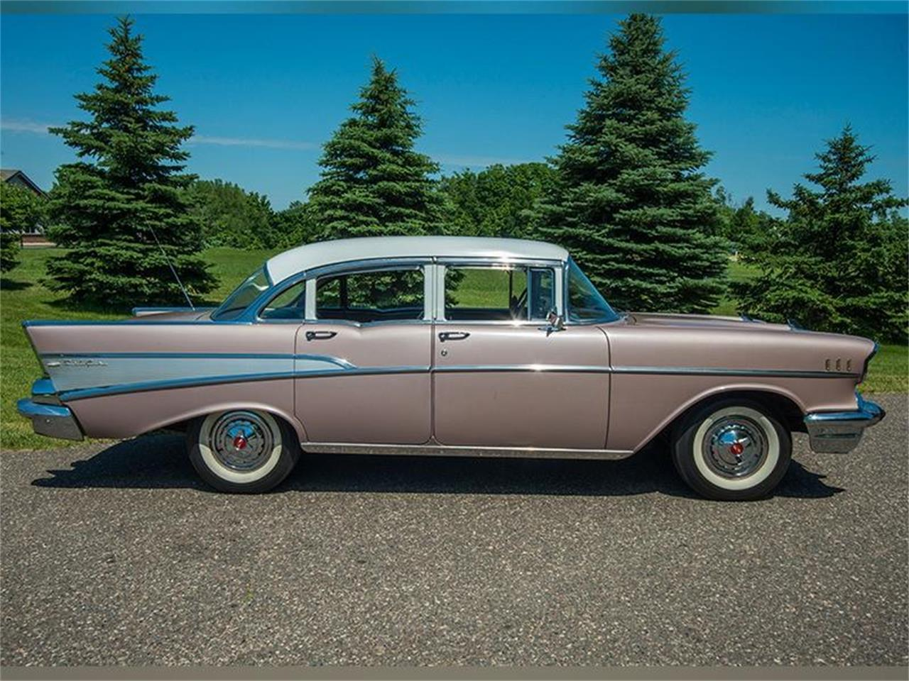 Large Picture of '57 Bel Air located in Minnesota - $29,950.00 Offered by Ellingson Motorcars - LE8L