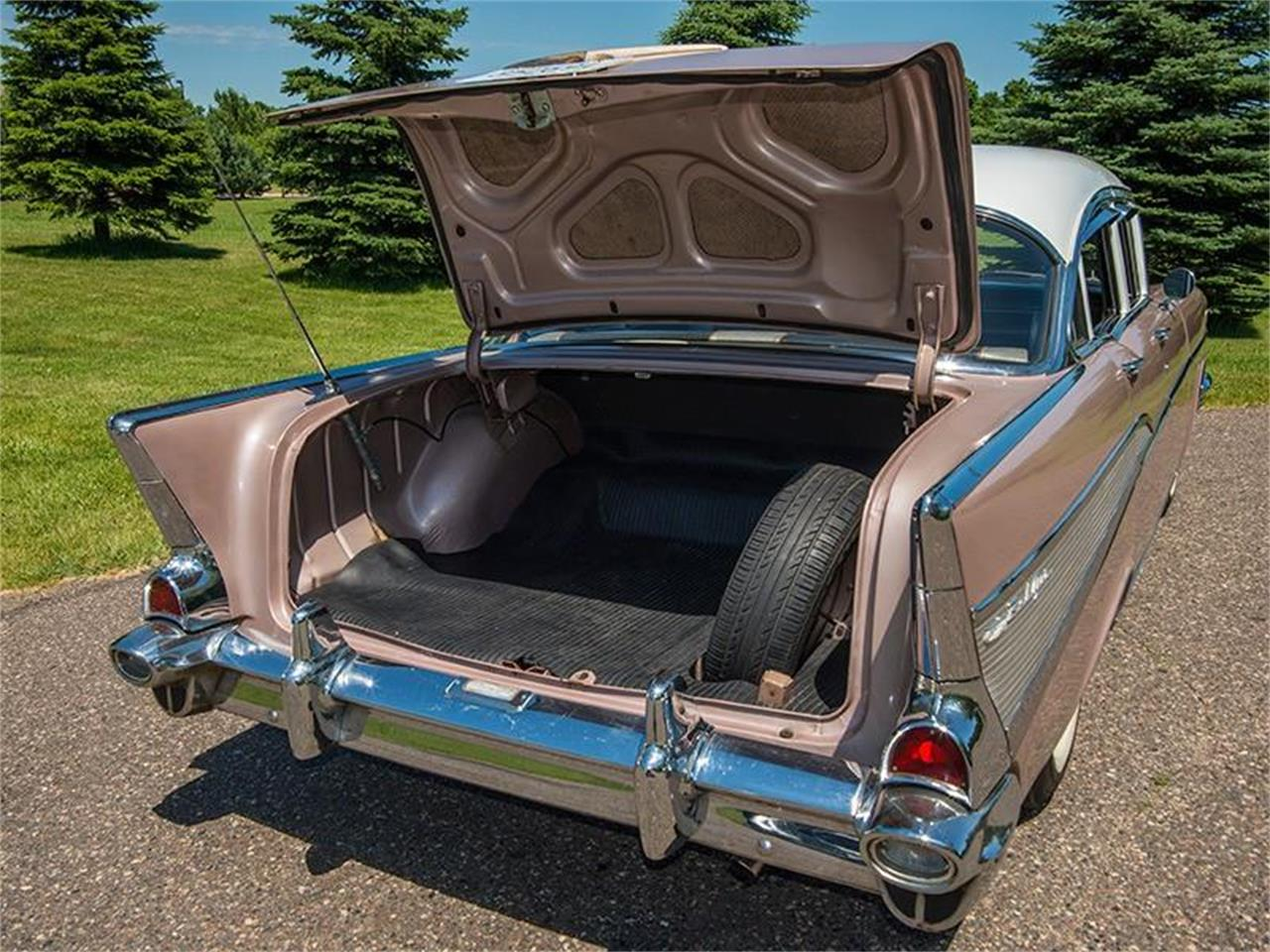 Large Picture of Classic '57 Chevrolet Bel Air located in Rogers Minnesota - $29,950.00 Offered by Ellingson Motorcars - LE8L