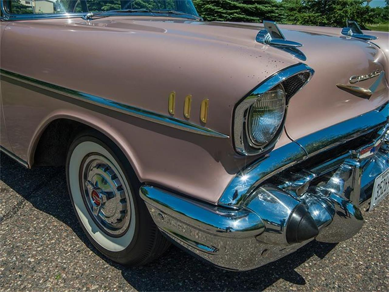 Large Picture of 1957 Chevrolet Bel Air located in Rogers Minnesota Offered by Ellingson Motorcars - LE8L
