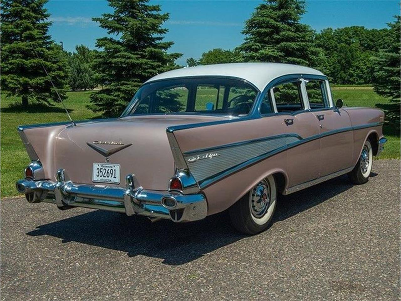 Large Picture of Classic '57 Bel Air located in Minnesota - $29,950.00 Offered by Ellingson Motorcars - LE8L