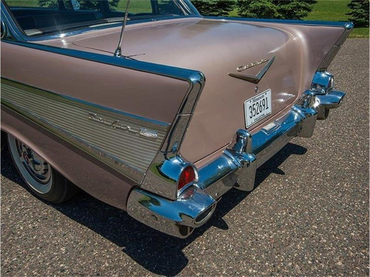Large Picture of Classic 1957 Bel Air located in Rogers Minnesota Offered by Ellingson Motorcars - LE8L